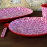 Red Leaves Tray