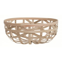Splint Bamboo Basket Large