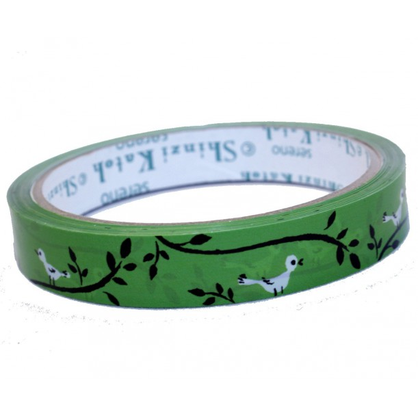 Deco Tape White Birds Shinzi Katoh