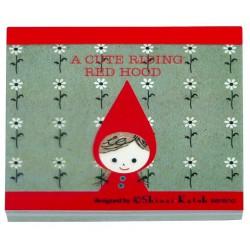 Memo Square cute red hood