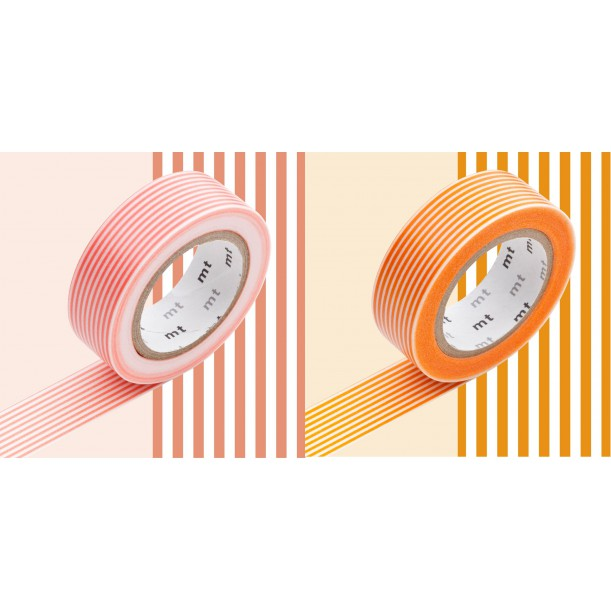 2 Masking Tape Déco Rayures