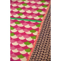 Square Pink Tablecloth Baobab