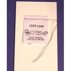 Card 100% Love