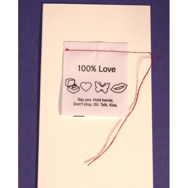 Carte 100% Love