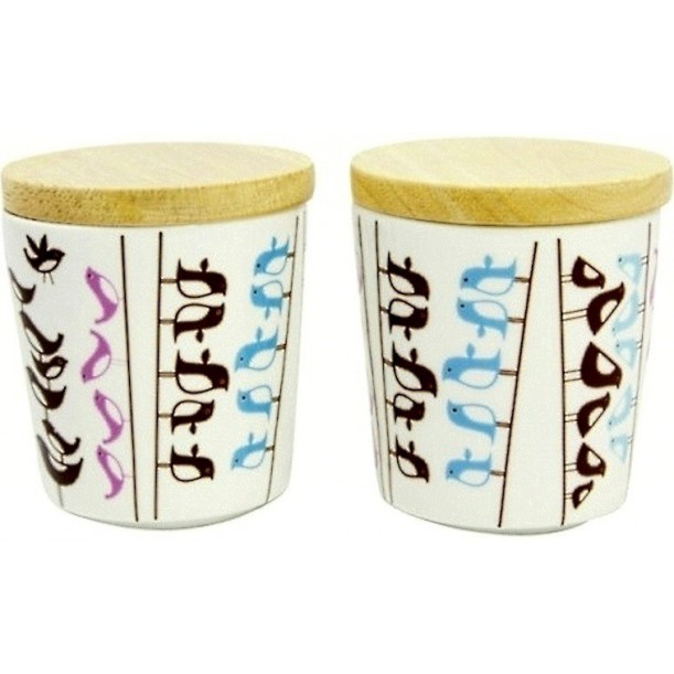 Set of 2 Mugs Birds