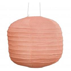 Large Fabric Lantern Orange Circle Bakker