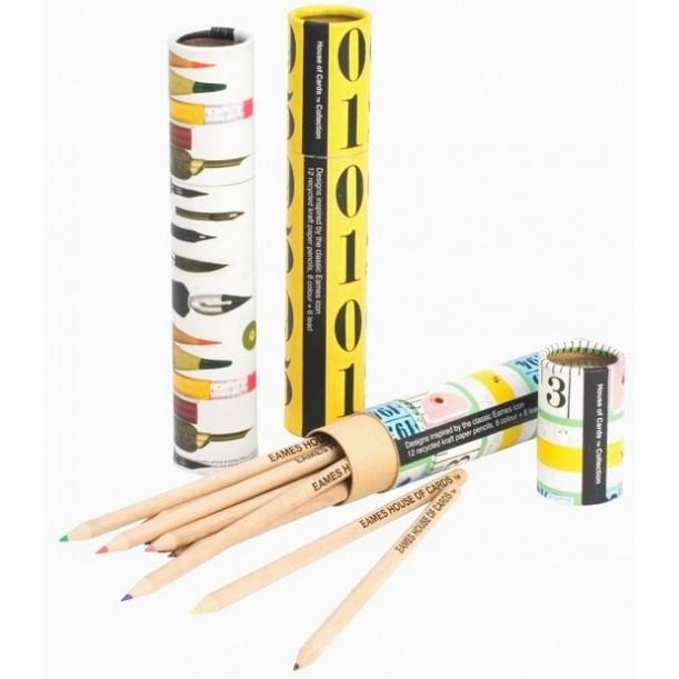 Éco Plumier Plumes et Crayons Eames