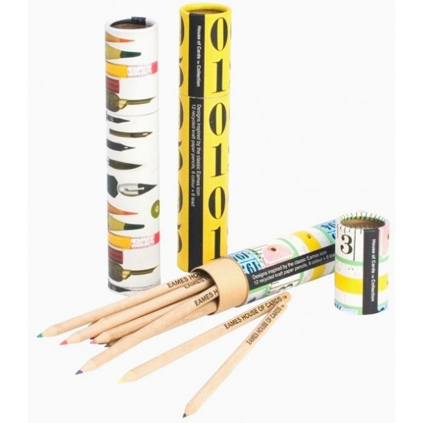 Eames Eco Pencil Tube Tape Measures