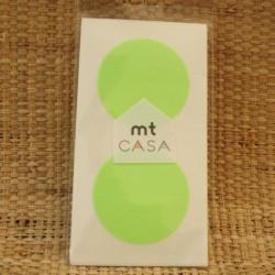 Masking Tape CASA Rond Vert Fluo Mark's