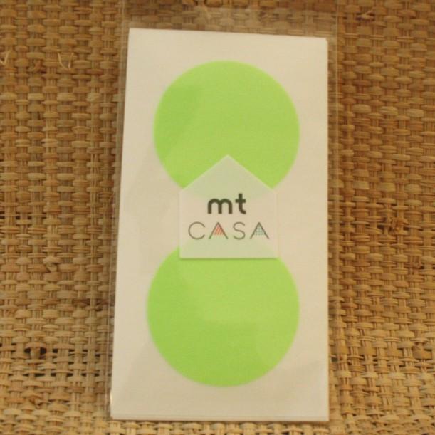 Masking Tape CASA Round Green Mark's