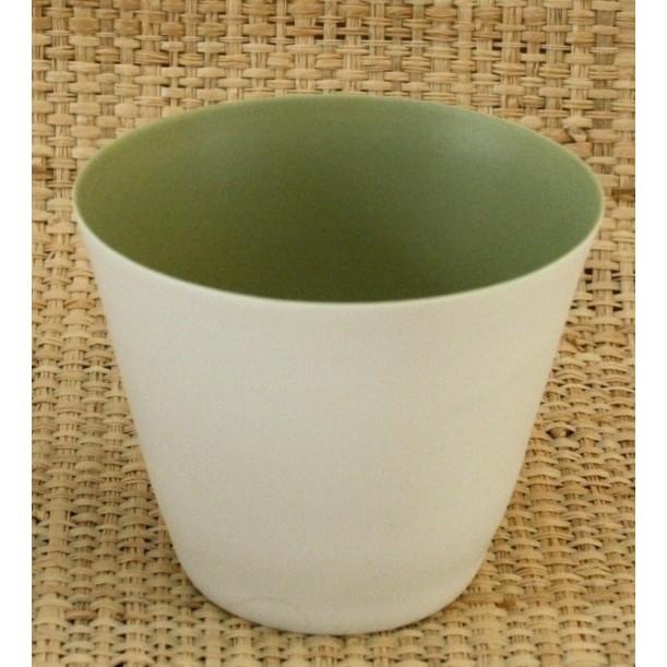 Kaki Candle Jar Porcelain Serax