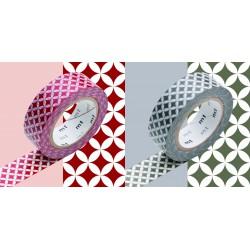 Set de 2 Masking Tape Shippou Benix et Susuiro