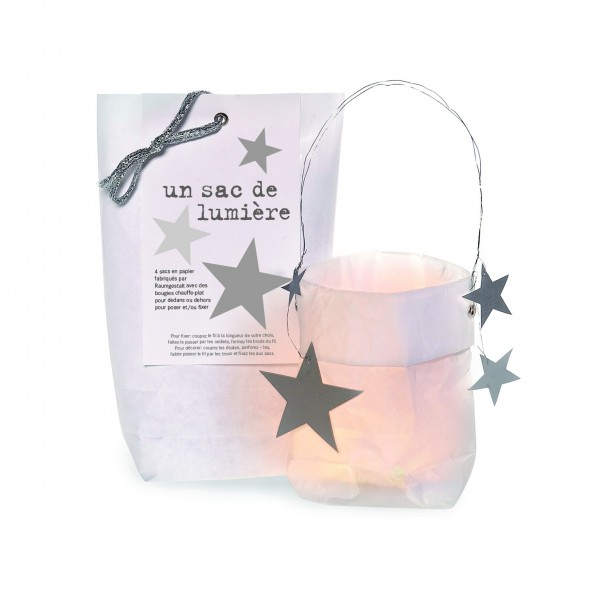 Bag of Light with Silver Stars Raumgestalt