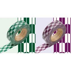 Set de 2 Masking Tape Yagasuri Murasaki et Midori