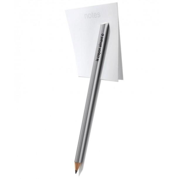 Silver Magnetic Pencil Paper Tout Simplement