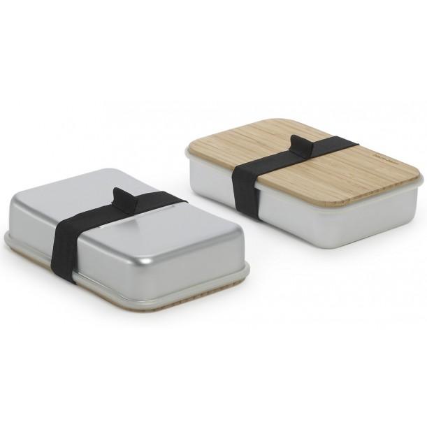 Sandwich Box Siver