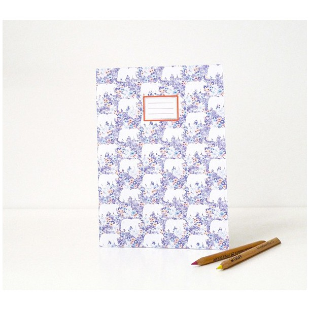 Daisy Bears Notebook Season Paper