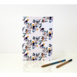 Tea Time Notebook Season Paper