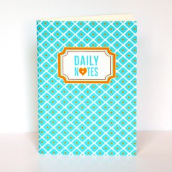 Carnet A6 Daily Notes