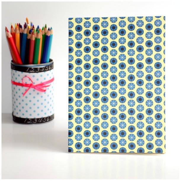 Notebook Blue Dots A5