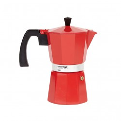 Coffee Maker Pantone 6 cups Red 186