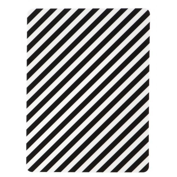 Buttering Board Black Stripe Ferm Living
