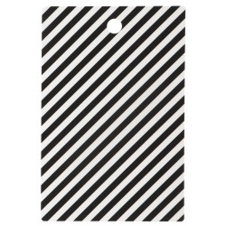 Cutting Board Black Stripe Ferm Living