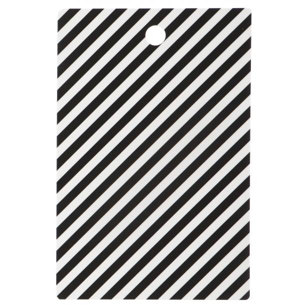 Cutting Board Black Stripe Ferm Living
