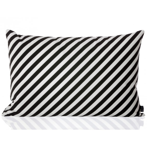 Black Stripes Cushion Ferm Living