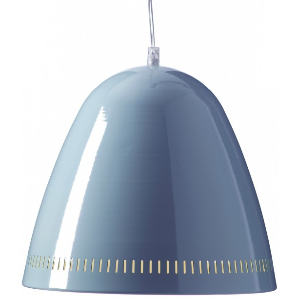 Large Pendant Lamp Smoke Blue