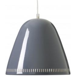 Grande Lampe Suspension Grise