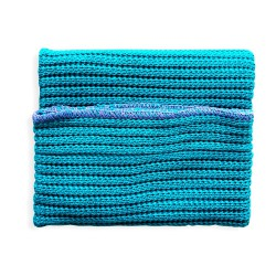 Dish-Cloth Dark Turquoise Waterquest