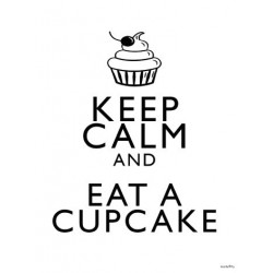 Affiche Cup Cake