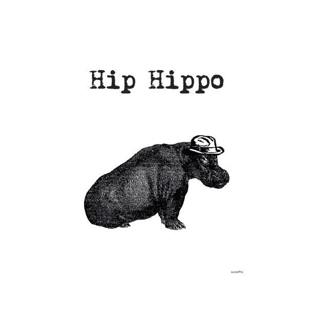 Print Hip Hippo