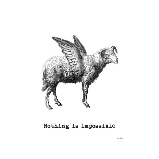 Print Nothing Is Impossible