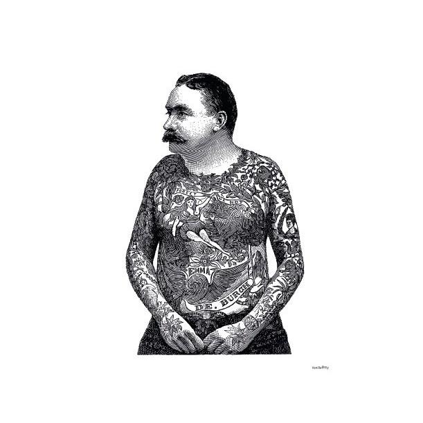 Print Body Tatoo