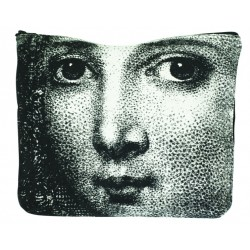 Large Cosmetic Bag Woman Face