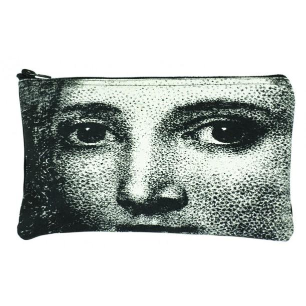 Small Cosmetic Bag Man Face
