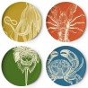Set de 4 Assiettes Sealife Thomas Paul