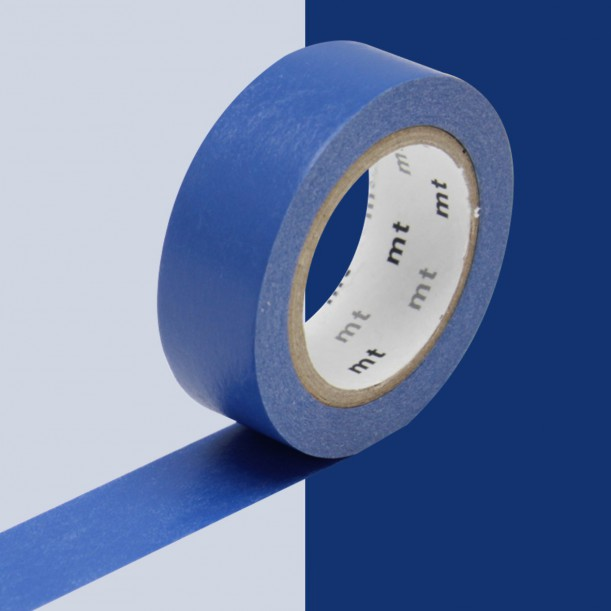 Masking Tape Blue Ruri