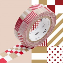 Masking Tape MT Deco Mix Red