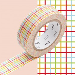 Masking Tape MT Deco Koushi Red