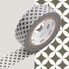 Masking Tape MT Deco Gris Shippou Susuiro