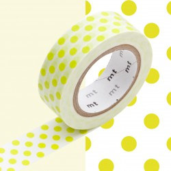 Masking Tape MT Deco Dot Moegi