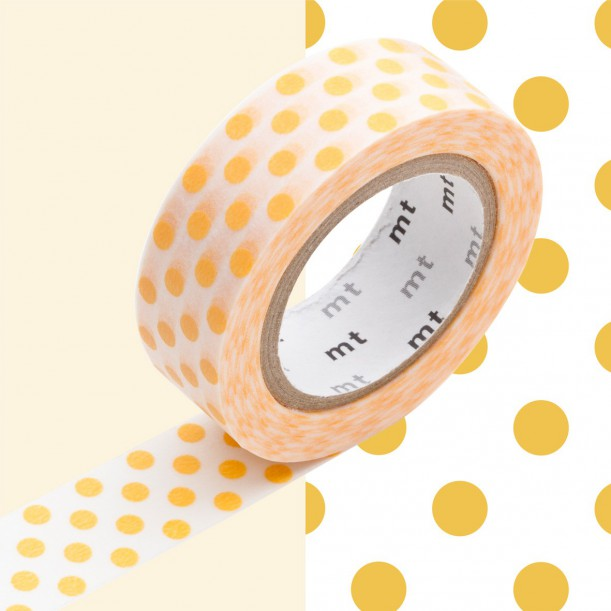 Masking Tape MT Deco Dot Apricot