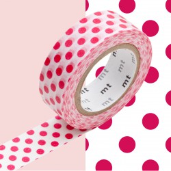 Masking Tape MT Deco Dot Red