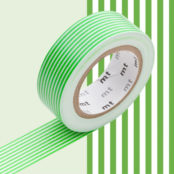 Masking Tape MT Deco Border Green