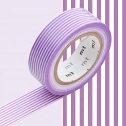 Masking Tape MT Deco Ligne Violette