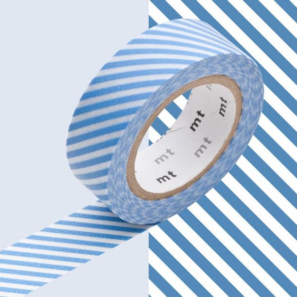 Masking Tape MT Deco Stripe Blue