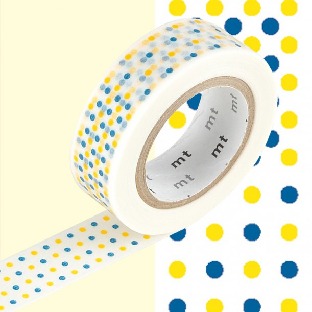 Masking Tape MT Deco Marble Yellow